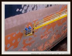 GENMAR SKY (IMO 9322279) (United World Marine) Tags: sky marine maritime oil tanker imo coating antifouling genmar drydocking 9322279