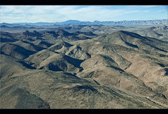 The desert outside Las Vegas