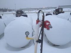 propane tank (jasonwoodhead23) Tags: camp gas alberta propane tanks