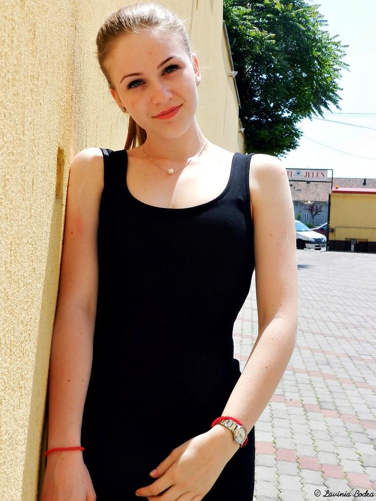 Romanian blonde milf
