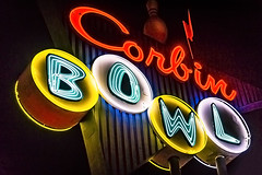 Corbin Bowl (Roadsidepeek) Tags: california sign alley neon pin bowl bowling signage roadside corbin tarzana roadsidepeek
