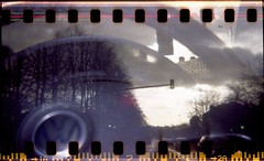 HolgT200012 (Simon JT Paterson) Tags: nottingham vw 35mm holga exposure double multiple sprocket c41 tetenal 120cn