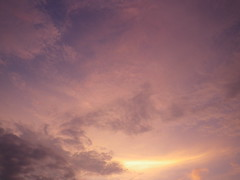 Cloudscapes #133 (tt64jp) Tags: sunset sky orange cloud color nature weather japan cloudy gray wolke  nuage    nube   gunma    kiryu