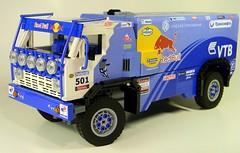 03 (LegoMarat) Tags: lego rally 4wd technic dakar raid rc kamaz камаз powerfunctions
