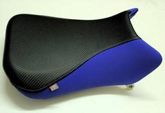 tapizar asiento de moto (Tapizados y gel para asientos de moto) Tags: azul moto asiento carbono tapizar