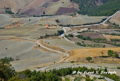 Cairano (AV), 2008, Vista dalla rupe. (Fiore S. Barbato) Tags: italy campania alta rupe campi avellino arati altairpinia irpinia coltivati cairano