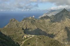 Paisaje de Anaga, Isla de Tenerife (letrucas) Tags: españa spain canaryislands islascanarias afur anaga flickrsbest taborno flickraward isladetenerife cordilleradeanaga barrancodeafur roquedeánimas