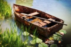 boat on a lake (Jeff 05) Tags: