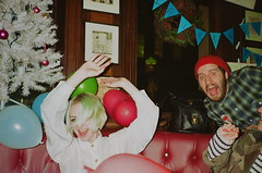 The Gun (Eleanor McDowall) Tags: christmas party balloons pub e1 eastlondon thegun photobomb