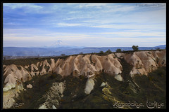 Uhisar, Cappadocia, Turkey (Alessandro Zaccari) Tags: panorama turkey landscape trkiye paesaggio cappadocia turchia kapadokya uhisar ef24105 eos5dmarkii