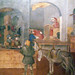 Detail of shop and lecture from Ambrogio Lorenzetti's Effects of Good Government in the City