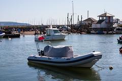 IMG_7599.jpg (*Hairbear) Tags: blue summer sky holiday water coast warm walk hampshire lymington