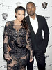 New Year Eve party at 1 Oak Nightclub at The Mirage Resort and Casino Las Vegas Featuring: Kim Kardashian, Kanye West