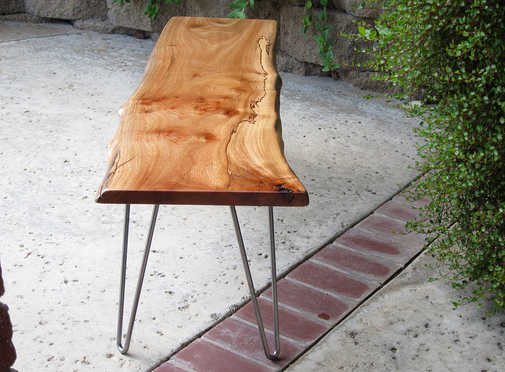 Handcrafted Solid Wood Live Edge Slab Bench  Woodwaves  Tags  wood modern  century bench. The World s Best Photos of legs and slab   Flickr Hive Mind