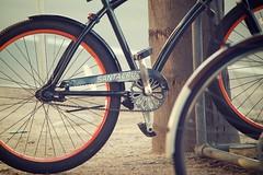 Santa Cruiser (scmatt9) Tags: orange santacruz bike wheel nikon sigma tire chain rim cruiser pedal 50150mm d7000