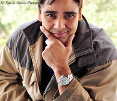 The Watch {EXPLORED} (rajnishjaiswal) Tags: watch watchad seiko perpetualcalander selfportrait portrait smiling man jacket manwearingjacketandwatch strobe d90 sb700 nikkor18105mm gimp