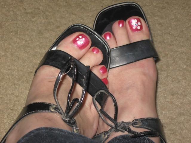 Tranny and feet