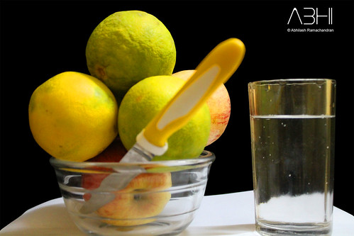 Eat more fruits and drink more plain water