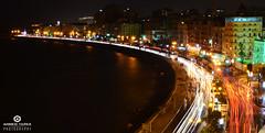 Alexandria <3 (xx Nemo xx) Tags: light alexandria night long exposure downtown egypt trails