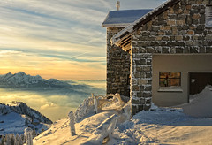 Half the perfect world (ceca67) Tags: sky mountain snow alps me church nature landscape photography schweiz switzerland photo nikon swiss half 2012 d90 ceca ceca67
