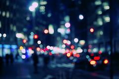 Lights (Génial N) Tags: usa newyork america pentax manhattan citylights nightlight missfocus pentaxk01