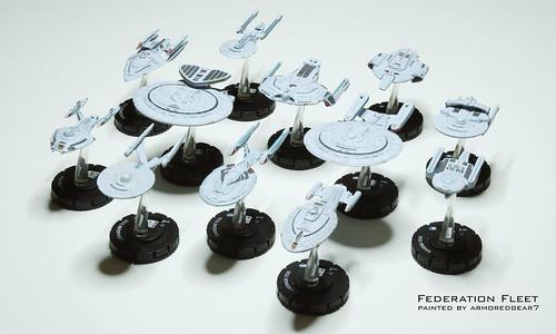 startrek miniatures boardgame (Photo: armoredgear7 on Flickr)