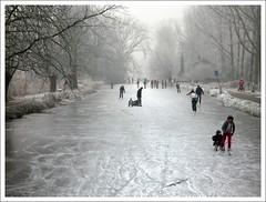 Winter Scene (YIP2) Tags: winter snow holland ice dutch landscape skating ijs schaatsen winterlandscape winterscene