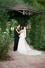 (Gaby J Photography) Tags: wedding film 35mm kodak lakelasvegas brideandgroom gazebowedding gabyjphotography lakelasvegaswedding