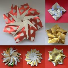 Jude's Eifelstar Variations (Vielfaeltig2010) Tags: origami hanswernerguth papierfalten soksong vielfaeltig2010 starvariation judesstarvariation judessternvariation eifelstarvariation sternvariation eifelsternvariation