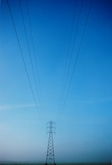 Wires (Robert Ogilvie) Tags: wires telephonewires olympusxa electricalwires kodakektar
