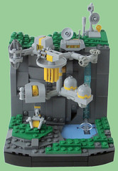 Research Base Kappa - Title (.Jake) Tags: lego space scifi fi vignette sci eb microspace vig eurobricks