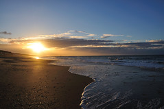 Amanecer (Mele Mazagon) Tags: sea sun beach playa amanecer mazagon