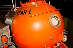CU441 Mini-Sub (listentoreason) Tags: orange usa color philadelphia america canon unitedstates pennsylvania military navy favorites places submarine naval pennslanding ef28135mmf3556isusm score30 independenceseaportmuseum philadelphiamaritimemuseum