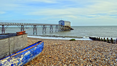 Sunny Selsey (blue angel66) Tags: sea west beach station sussex boat wooden nikon lifeboat scape selsey rnli d5100