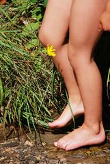 L'enfant et la fleur (J.P Lucas) Tags: france drme treschenucreyers
