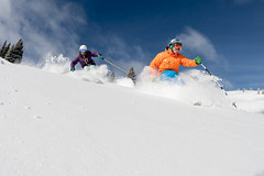_IM_0272aaa (DanielMilchev) Tags: red snow colorado skiing powder vail freshtracks proskiers