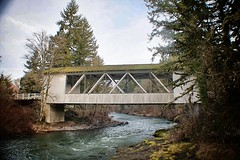 Hannah Covered Bridge, Linn Co., OR (ZnE's Dad) Tags: oregon coveredbridge linncounty oregoncoveredbridges hannahcoveredbridge