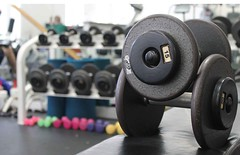 Dumbbell Workout Setup (NDiazPR) Tags: workout weights dumbbells