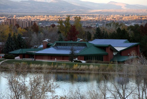 Photo - South Boulder Recreation Center Solar Panels