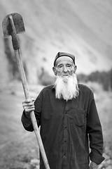 Elderly Yazgulomi peasant (damonlynch) Tags: asia bw centralasia gbao gornobadakhshanautonomousoblast gornobadakhshanautonomousprovince kohistanbadakhshan kuhistonibadakhshon mountainousbadakhshan pamirmountains pamirs people tajikistan viloyatimukhtorikuhistonibadakhshon yazgulom zhamak aged blackwhite blackandwhite elderly humanbeings humans male man masculine maturity men peasant person senior seniorcitizen shovel spade village
