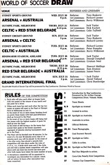 The $75000 World Of Soccer Cup - 1977 - Page 5 (The Sky Strikers) Tags: world red cup star official soccer australia souvenir tournament celtic belgrade arsenal intercontinental programme the 75000 of
