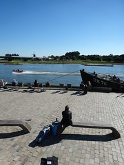 sittin' on the dock of the IJssel , Deventer (willemalink) Tags: sittinonthedockoftheijssel deventer edgar baritone