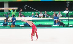 IMG_3479 (Mud Boy) Tags: rio riodejaneiro brazil braziltrip brazilvacationwithjoyce rio2016 rioolympics rioolympics2016 summerolympics 2016summerolympics jogosolmpicosdeverode2016 gamesofthexxxiolympiad thebarraolympicparkbrazilianportugueseparqueolmpicodabarraisaclusterofninesportingvenuesinbarradatijucainthewestzoneofriodejaneirobrazilthatwillbeusedforthe2016summerolympics barraolympicpark barradatijuca rioolympicarena zonebarradatijuca gymnasticsartisticwomensindividualallaroundfinalga011 gymnasticsartisticwomensindividualallaroundfinal ga011 rioolympicarenagymnastics gymnastics alyraisman floorexercise competition favorite rio2016favorite riofacebookalbum riofavorite olympics
