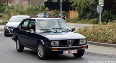 Alfa Romeo Alfetta 2.0 (XBXG) Tags: oabg165 alfa romeo alfetta 20 alfaromeoalfetta alfaromeo ar overveen nederland holland netherlands paysbas vintage old classic italian car auto automobile voiture ancienne italienne italy italie italia itali