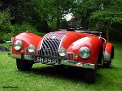 Allard K1 Sport (BenGPhotos) Tags: 2016 car motorsport event race racing sports autosport motor sport classic british motorsportatthepalace crystal palace sprint red 1949 allard k1 rare sh8990