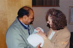 Nana, Isabel, Nani (niiicedave) Tags: 2000s 2002 fresnocityincaliforniausa familyphotos grandparents newborn
