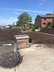 Community Compost Build - Turn and Burn 8.21.16