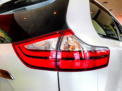 Toyota Sienna taillight (SteveMather) Tags: toyota sienna taillight taillamp showroom floor dealership dealer 2016 2017 procamera posteredges vividhdr rear lamp lights auto car automobile