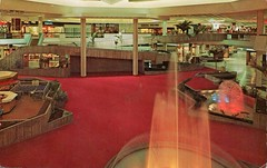 Altamonte Mall, Orlando, Florida (SwellMap) Tags: postcard vintage retro pc chrome 50s 60s sixties fifties roadside midcentury populuxe atomicage nostalgia americana advertising coldwar suburbia consumer babyboomer kitsch spaceage design style googie architecture shop shopping mall plaza