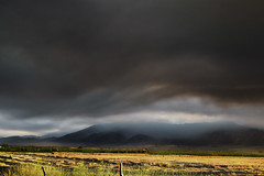Utah Wildfire (oybay) Tags: wildfire fire utah loganutah logan smoke smokey waves landscape mountain dusk color colors scary beautiful stunning outrageous nature natural dark ominous farm globalwarming outdoor mountainpeak sky rural farmland inspiringcreativeminds serene calm tourism america